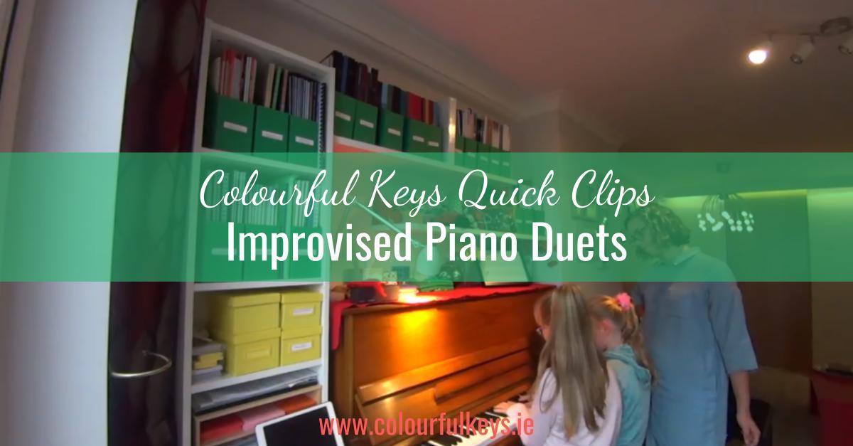 CKQC013- Improvising piano duets and exploring the keys