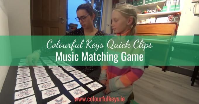 CKQC014: 'Snowflake Synonyms' game for matching music terms