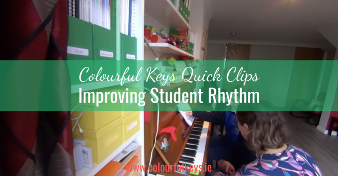 CKQC015: Playing side by side to improve piano student rhythm