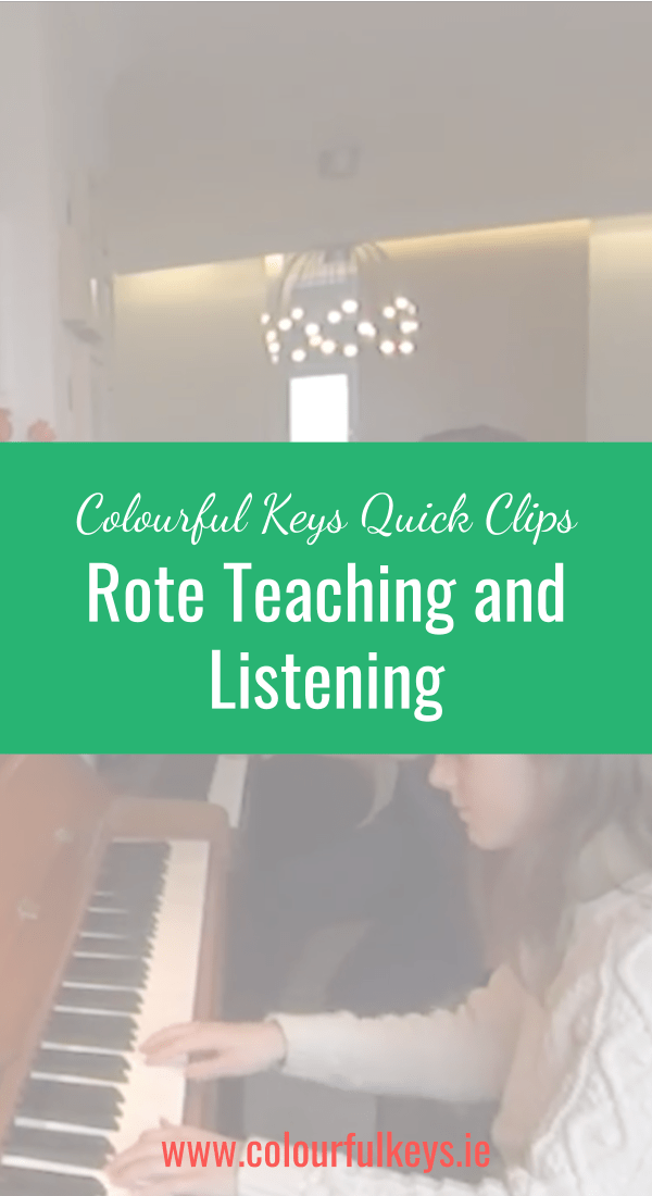 CKQC017_ Learning through listening with the rote piece 'Dragon Dance' Pinterest