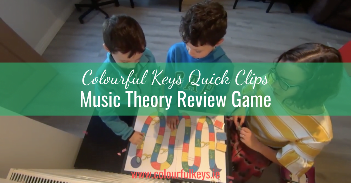 CKQC018_ 'Bananas and Ladders' full level 1 music theory review blog post