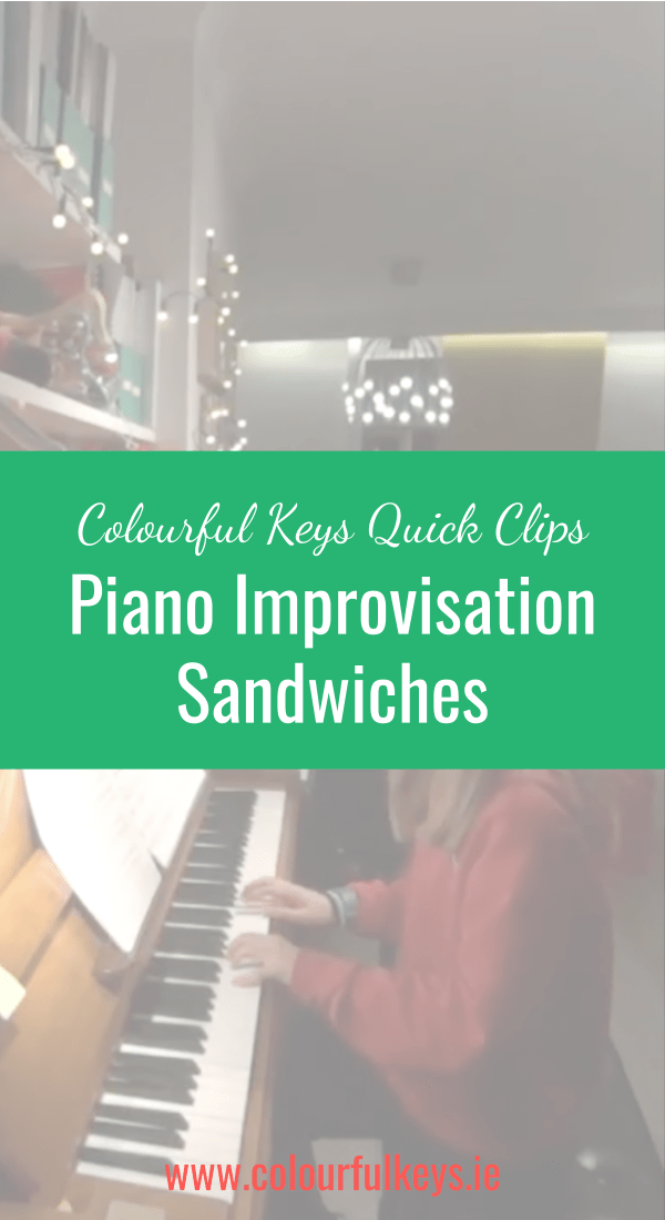 "CKQC020_ Improvisation ""sandwiches"" with repeated note embellishments Pinterest"