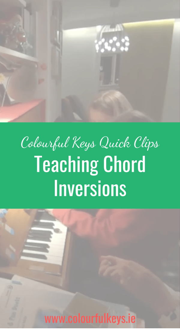 CKQC021_ Teaching chord inversions with hedgehogs and games Pinterest