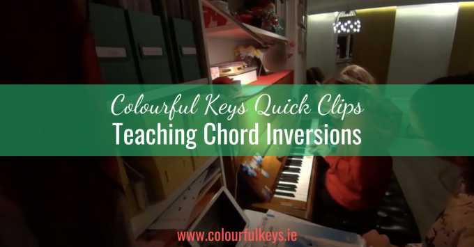 CKQC021: Teaching chord inversions with hedgehogs and games