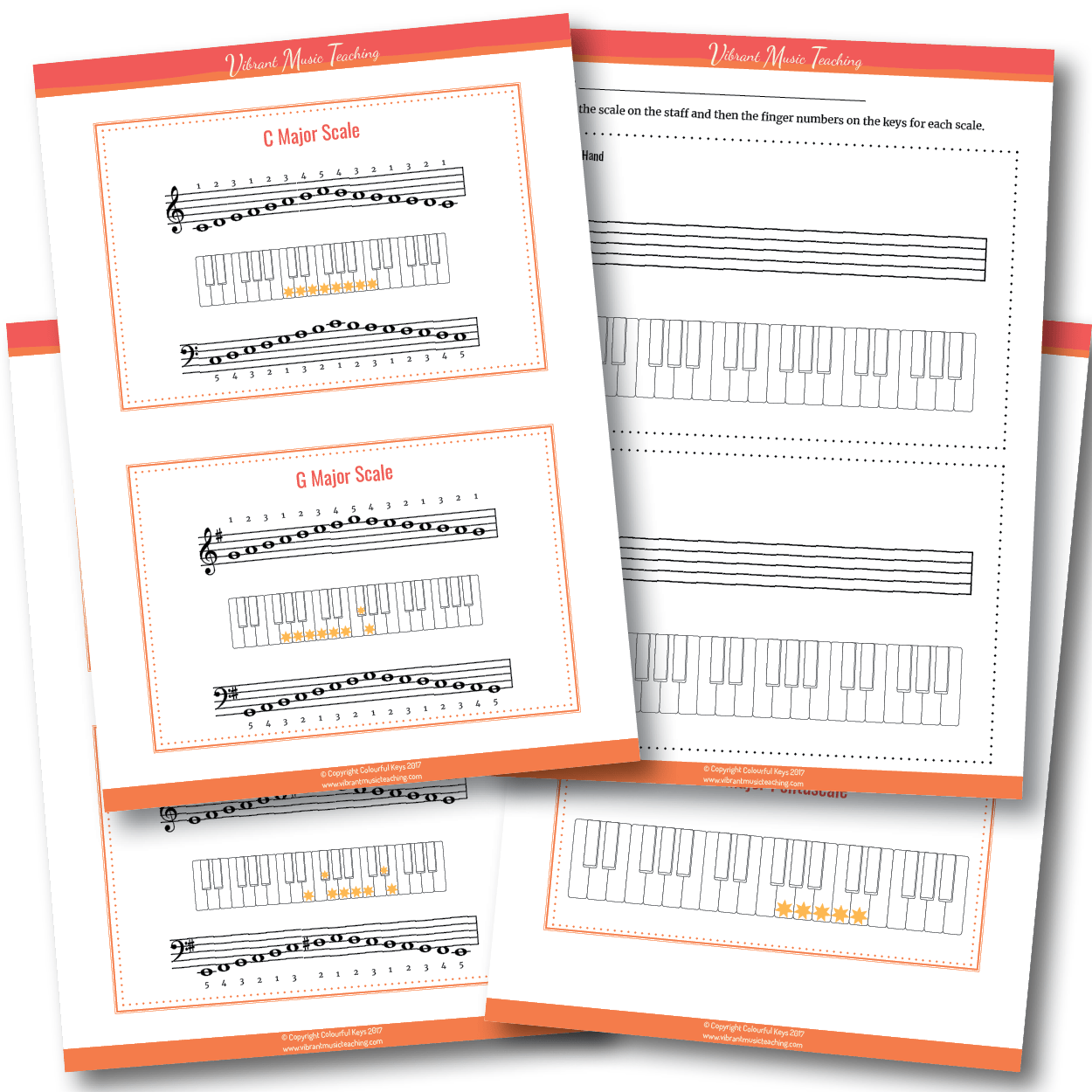 Scales booklets preview
