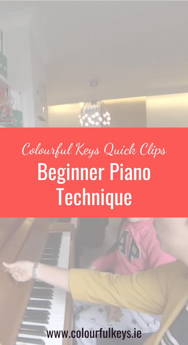 CKQC023_ Beginner piano technique with zebra taps and lion paws Blog Post Image Template Pinterest 2