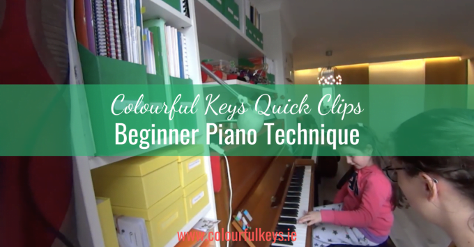 CKQC023: Beginner piano technique with zebra taps and lion paws