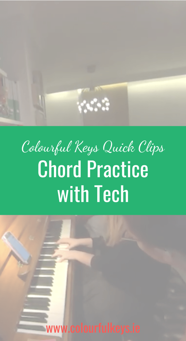 CKQC024_ Major chord practice with the iReal Pro app Blog Post Image Template Pinterest