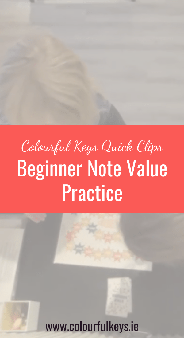 CKQC028_ Beginner note value work with 'Star Seekers' Blog Post Image Template Pinterest 2