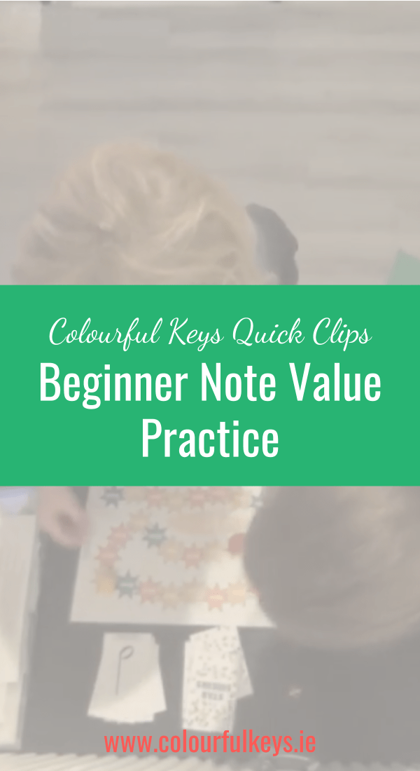 CKQC028_ Beginner note value work with 'Star Seekers' Blog Post Image Template Pinterest