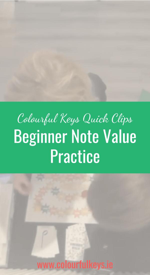 CKQC028_ Beginner note value work with 'Star Seekers' Blog Post Image Template Pinterest