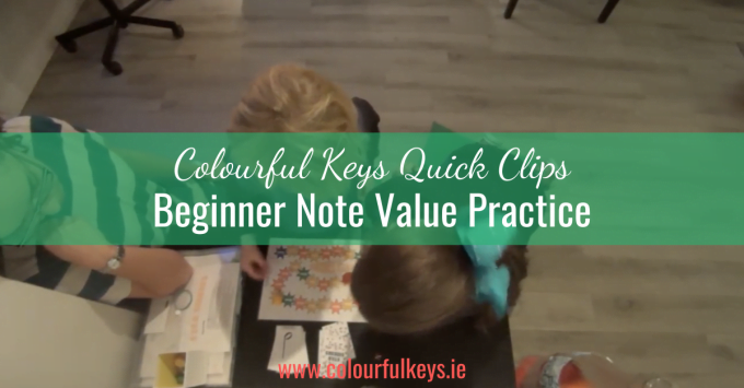 CKQC028: Beginner note value work with 'Star Seekers'
