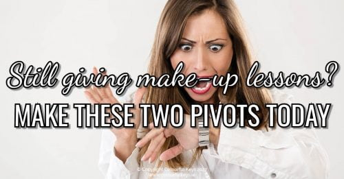 Leave Make-Up Lessons in the Dust with these Two Important Pivots!