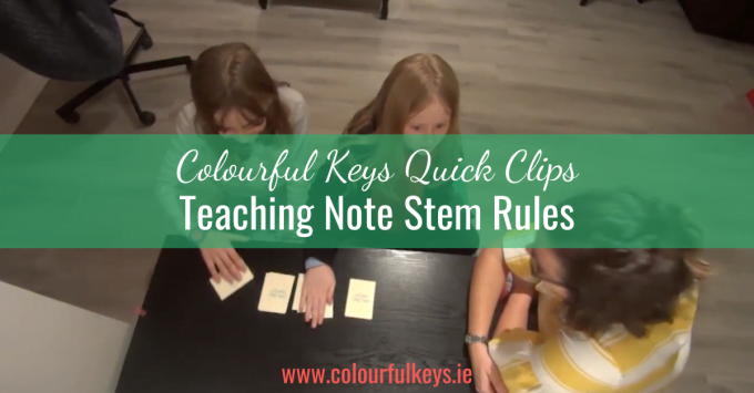 CKQC030: Create note stem superstars with the 'Note Stem Smash' game