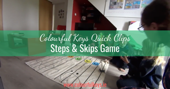 CKQC031: Step & skip race on the floor staff