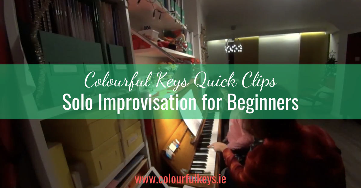 CKQC032_ 'Sunrise' and 'Moonrise' improvisation solos for beginners Blog Post Template