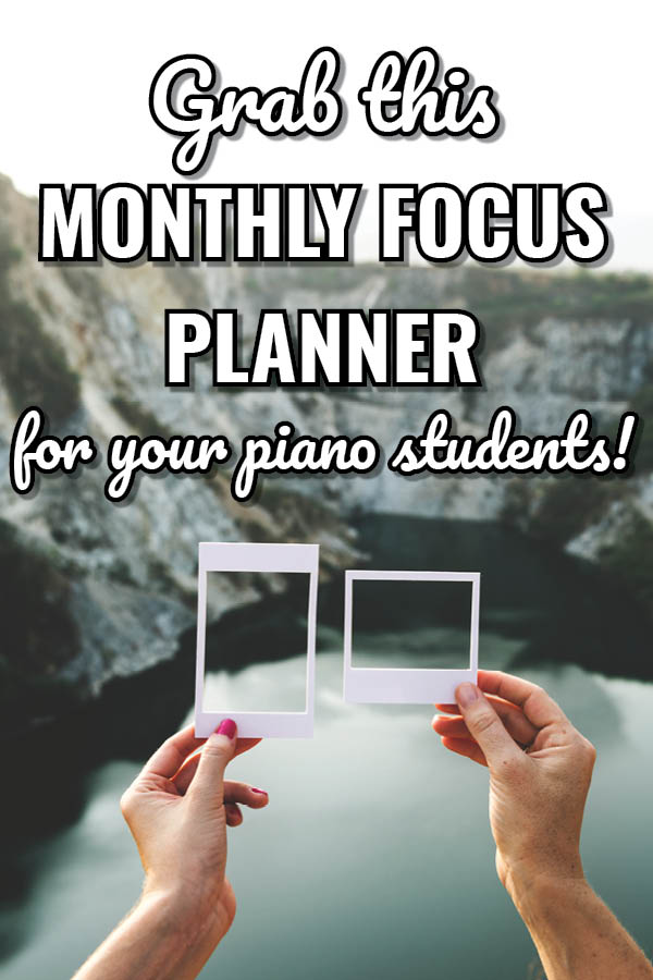 Manageable Creativity in Piano Lessons with Monthly Focuses4