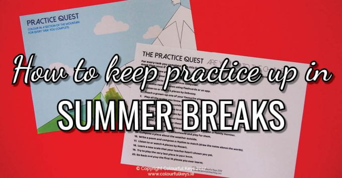Send your students on a practice quest this summer break!