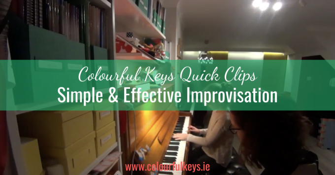 CKQC039: Simple but effective solo improvisation for beginners
