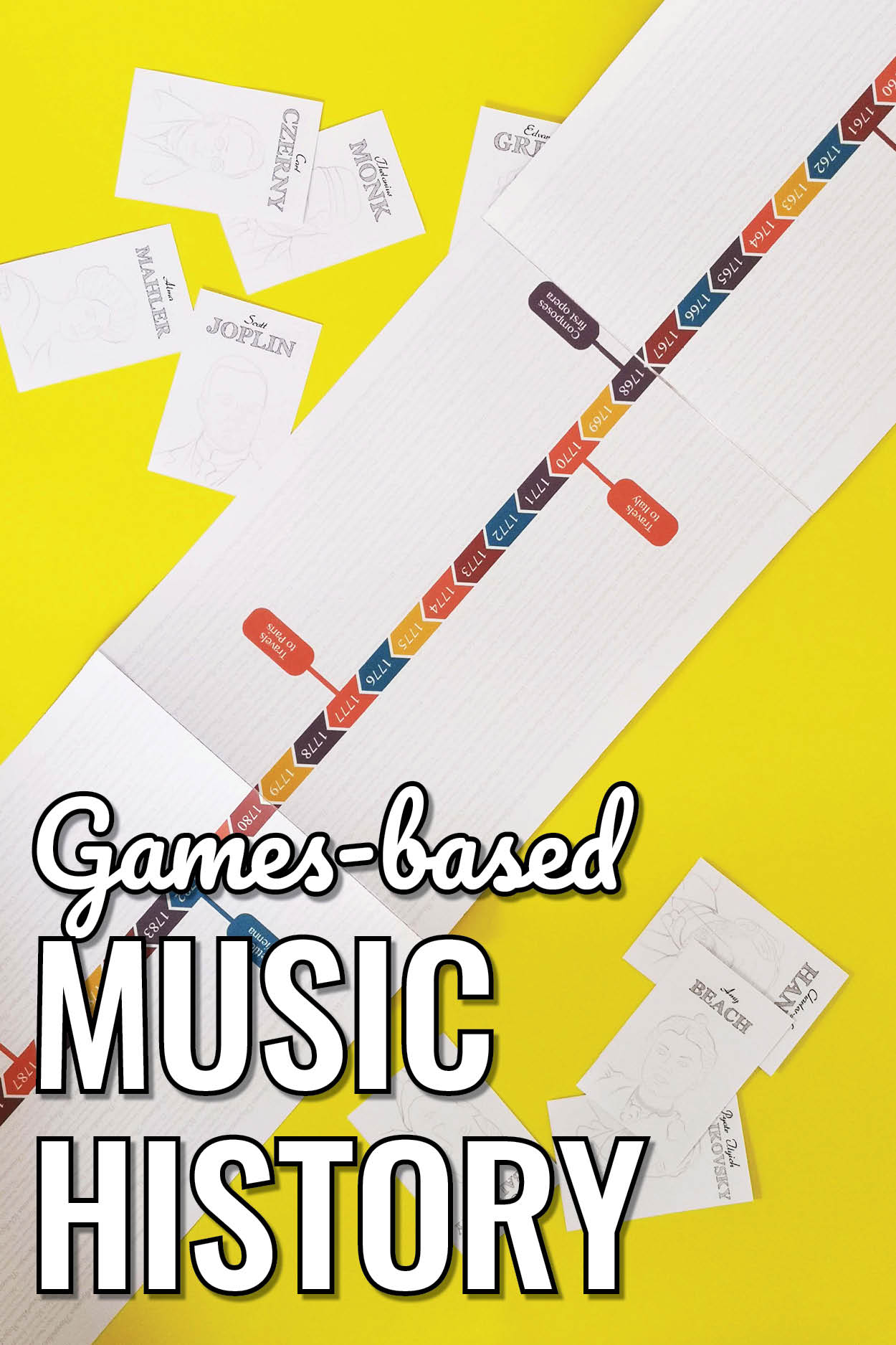 How to teach your students more music history using games and other fun activities.