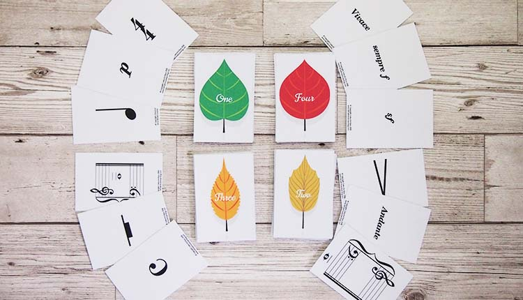 Don't Leaf Me! music theory game from Vibrant Music Teaching
