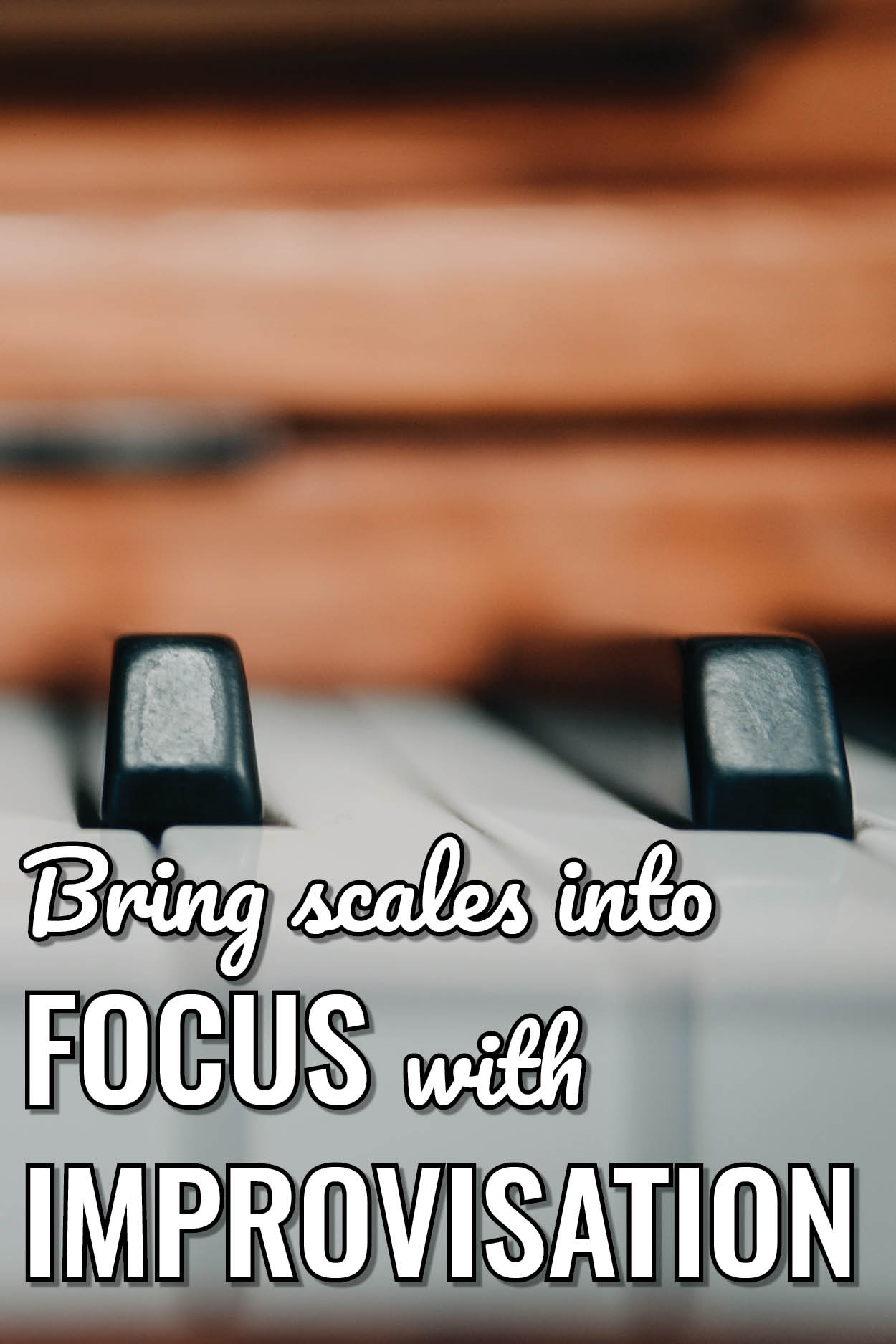 How to get started with circle of fifths improvisation and make scales exciting in your studio.