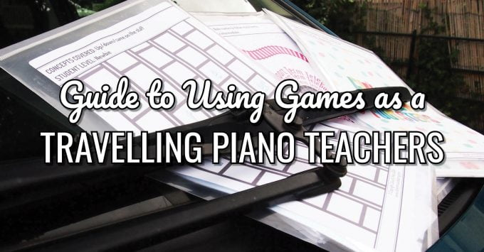 How to Use Games as a Travelling Piano Teacher