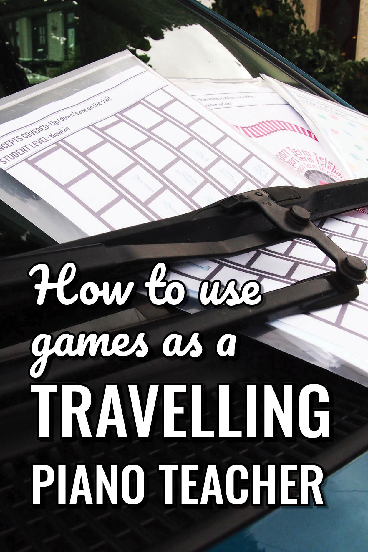 How to plan games for piano lessons – for travelling piano teachers