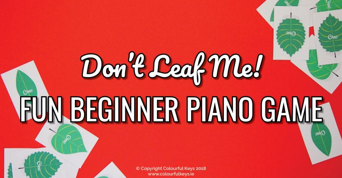 Leave September Forgetfulness Behind with this Piano Game
