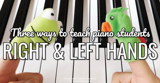 3 Ideas for Helping Piano Students with Right:Left Coordination