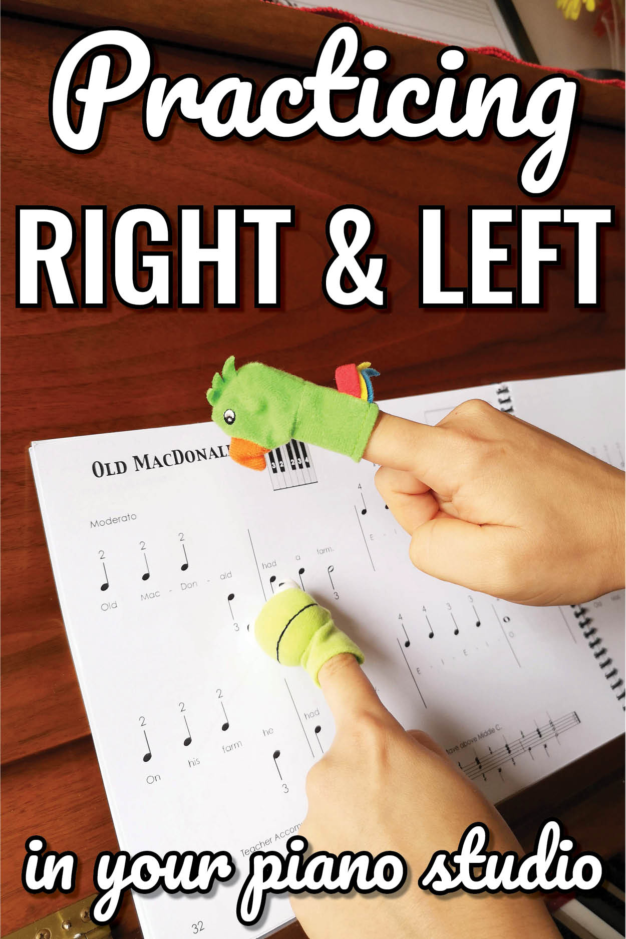 Teaching right/left coordination in your piano studio