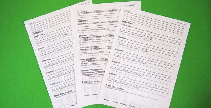 Bringing Music History to Life Part 1- Composer Assignment Sheets with composer assignment sheets