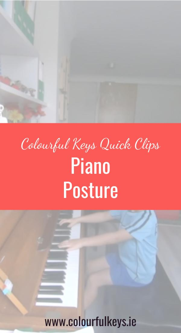 CKQC041_ Reviewing piano posture with young students Blog Post Image Template Pinterest 2