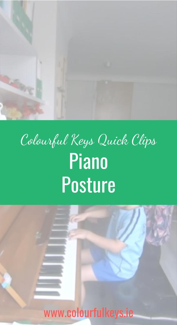 CKQC041_ Reviewing piano posture with young students Blog Post Image Template Pinterest