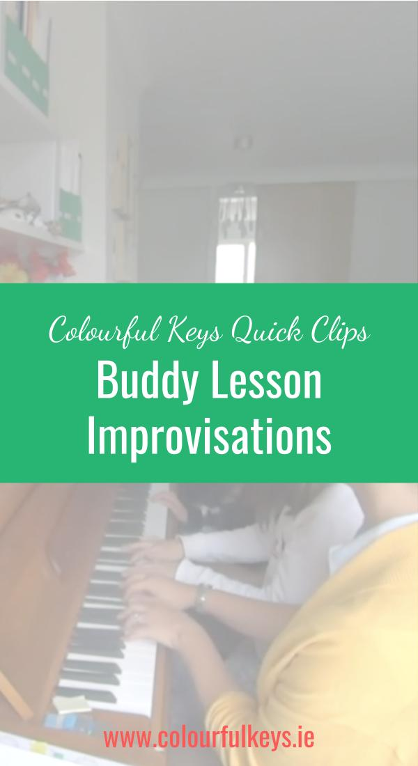 CKQC042_ Using Create First improvisations in buddy lessons Blog Post Image Template Pinterest
