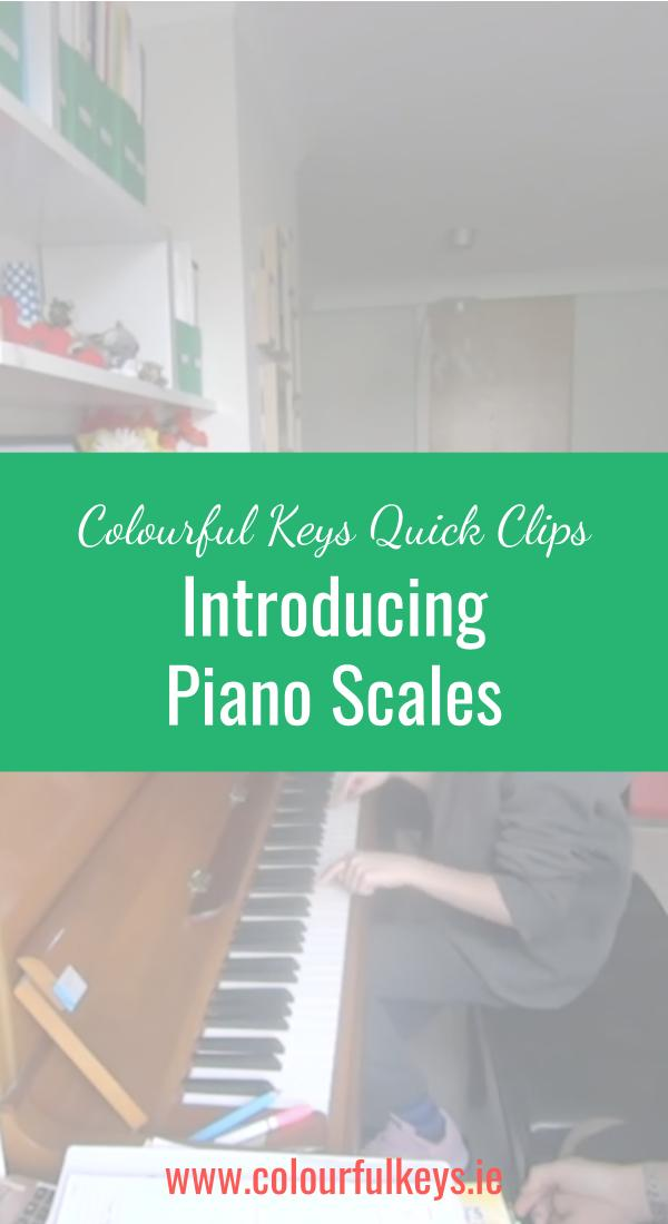 CKQC043_ Teaching piano scales with one finger from each hand Blog Post Image Template Pinterest