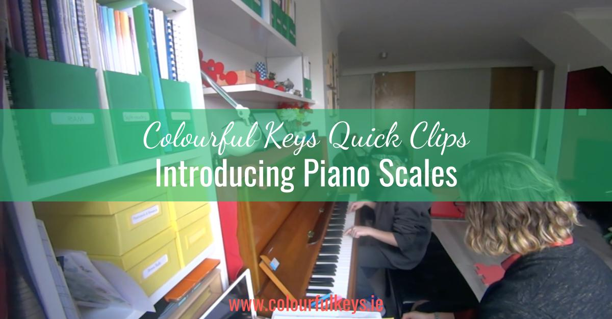 CKQC043_ Teaching piano scales with one finger from each hand Blog Post Template