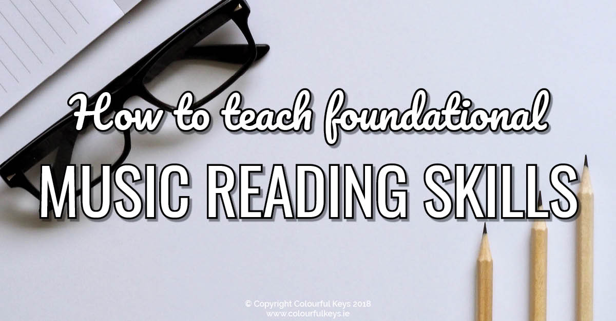 How to teach essential music reading skills to your piano students