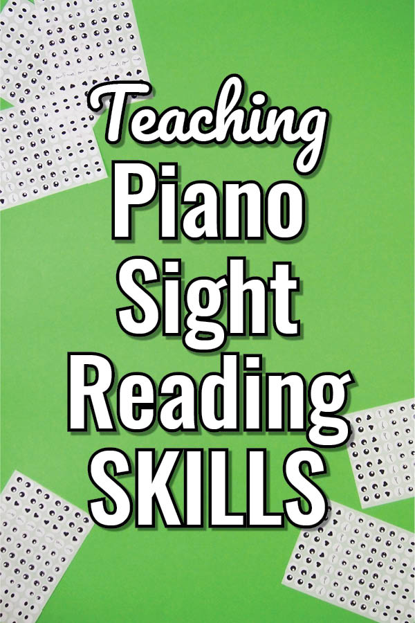 How to Teach Piano Sight Reading with a Rainbow and why you need colour in your piano teaching studio!