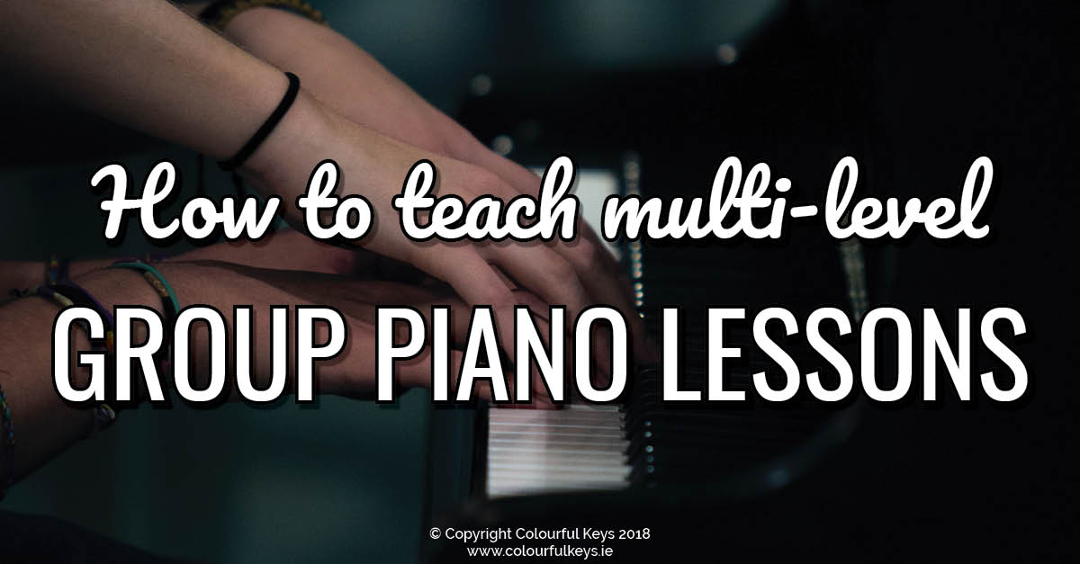 Tips and Tricks for When Group Piano Students are Ahead (or Behind)