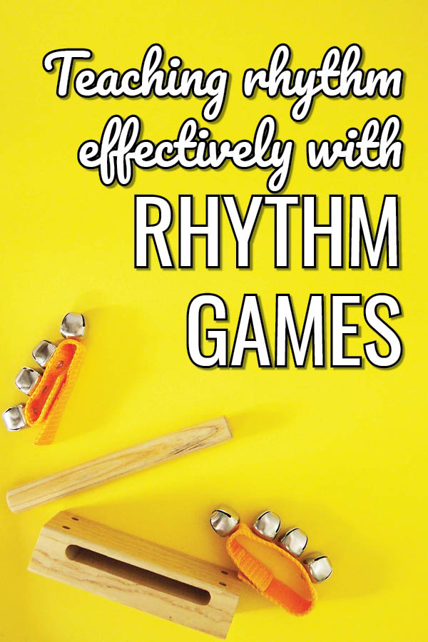 How to teach rhythm using a fun rhythm game in your music lessons