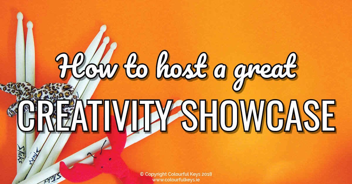 How to Host a Creativity Showcase Recital