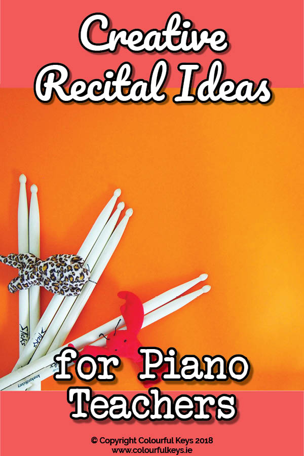Creative recital ideas for piano teachers – how to host a creativity showcase!