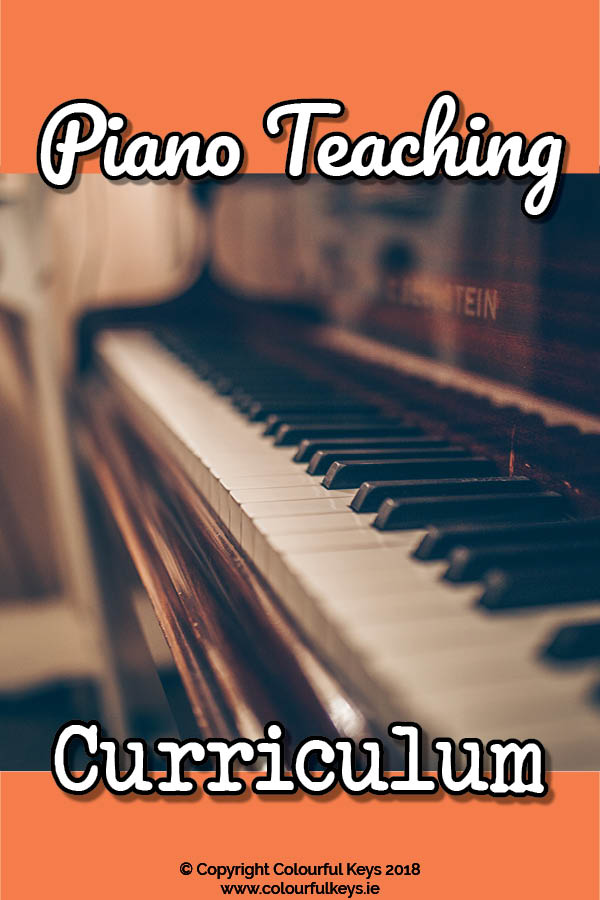 The Ultimate Guide to Your Piano Teaching Curriculum – how to think through and plan your piano students' goals
