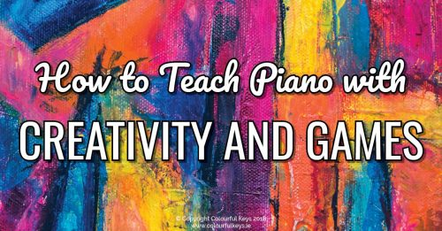 How to Teach Piano to Beginners with Games and Creativity2