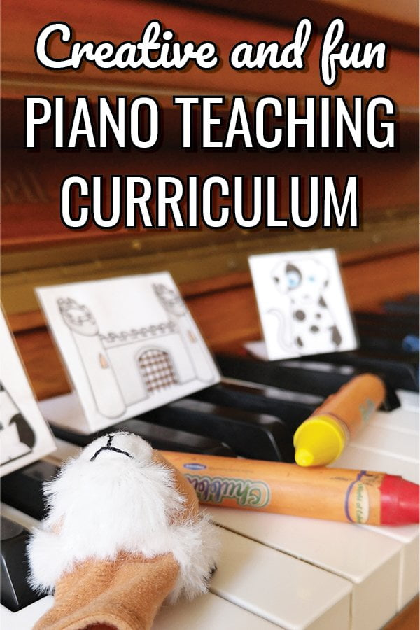 A creative and fun piano teaching curriculum for your beginner piano students