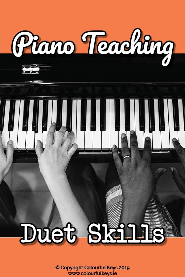 How to use improvisation to teach your piano students to be better duet partners