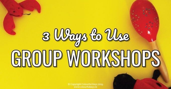 How to bring group workshops into your music teaching studio - three ideas to consider