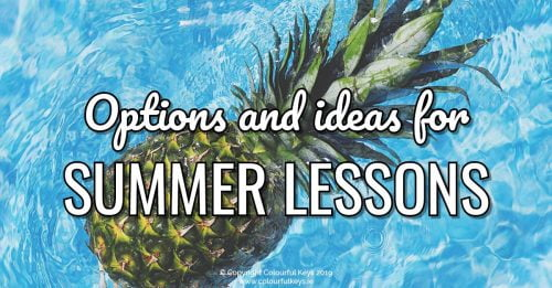 How to handle summer in your music studio business