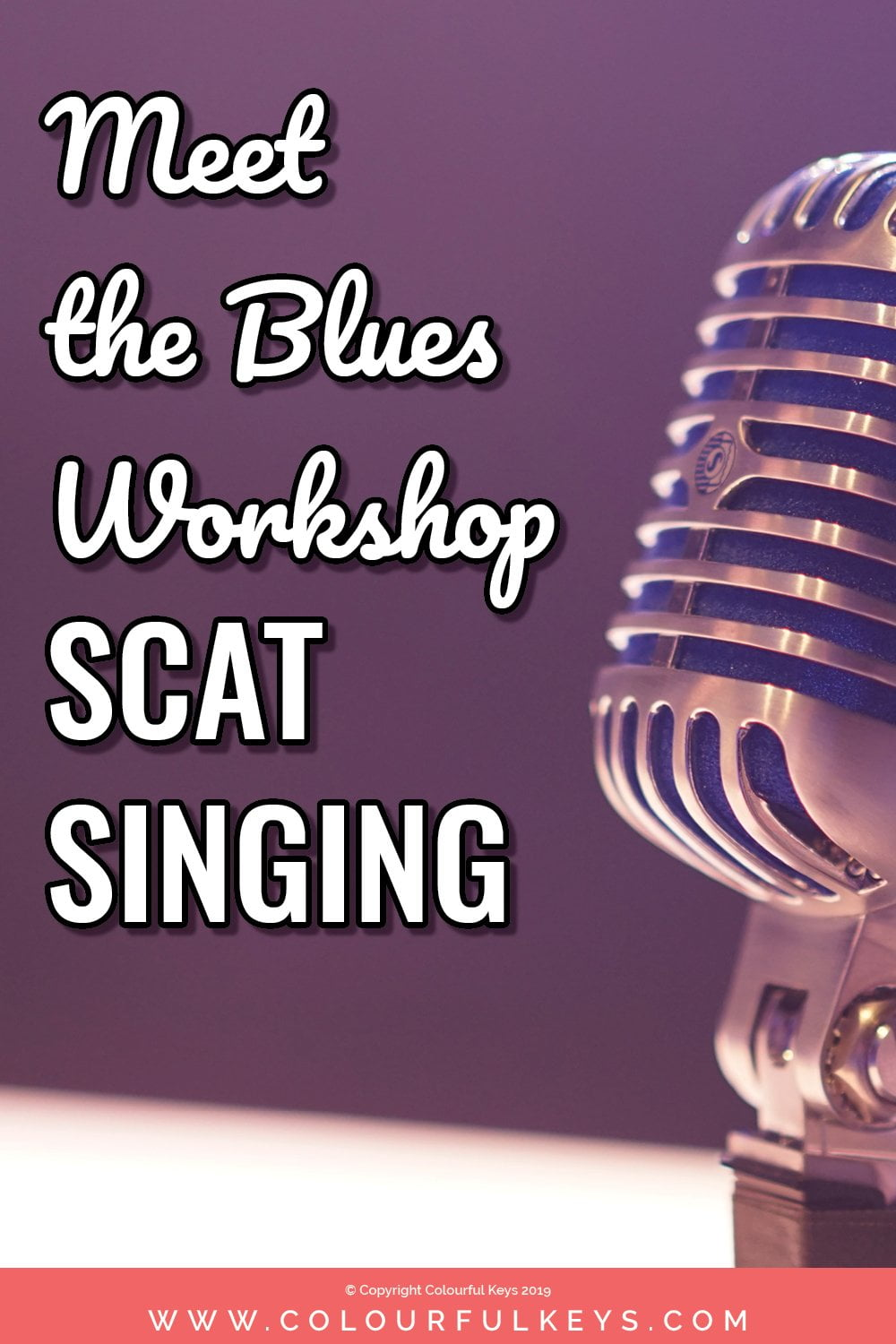 Learn what we do with scat singing at my piano student workshop on the 12 bar blues